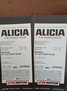 2 Tickets Alicia Keys 18.06.21