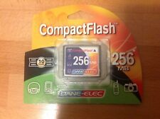 Dane elec compact flash vintage DSLR camera memory card compactflash 256mb new
