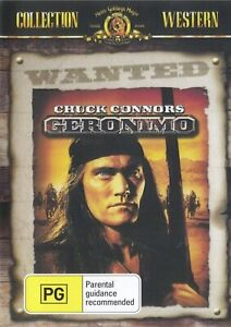 Geronimo DVD Chuck Connors New Sealed Australian Release