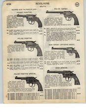1926 PAPER AD Colt Revolver Police Positive Army Special New Target Officers'