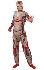 Marvel Superhero Iron Man 3 Avengers Fancy Dress Adult Costume