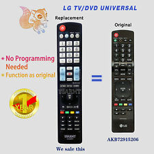 NEW LG TV Universal Remote by USARMT For AKB72915206 AKB72915238 AKB72915252