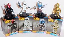 STAR WARS -Darth Maul Jango Fett C3-PO Clonetroopers -Collection lot 4 figurine