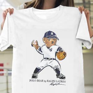 Hot New York Yankees Polo Ralph Lauren Bear MLB 2021 Shirt