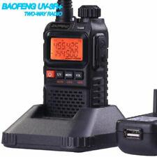 Mini Baofeng UV3R+ Walkie Talkie Dual Band FM Radio UHF/VHF LED LCD Funkgerät