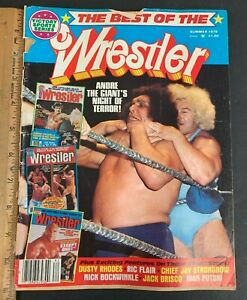 1978 SUMMER VICTORY SPORTS BEST OF THE WRESTLER MAGAZINE ANDRE THE GIANT 81521