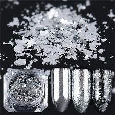 Nail Art Glitter Fireworks Magic Mirror Powder Acrylic Gel Sequins Decoration