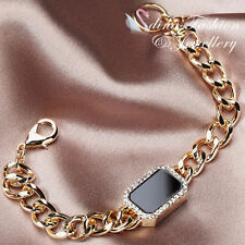 Agate Yellow Gold Plated Fashion Bracelets