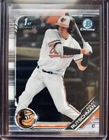 2019 Bowman Chrome Draft Adley Rutschman 1st Rookie RC Baltimore Orioles #BDC-1