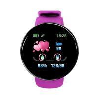 D18 bluetooth Reloj Inteligente Hombres Mujeres PresióN Arterial Reloj Redo H5T9