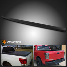 For 2007-2013 Toyota Tundra Texture ABS Black Upper Protector Cover Top Tailgate