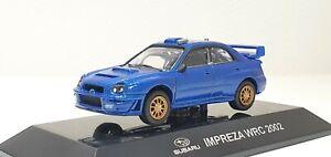 1/64 CM's 2002 SUBARU IMPREZA WRX STI WRC BLUE street ver. diecast model *READ