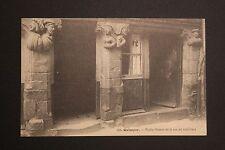 Carte postale ancienne CPA QUIMPER - Vielle maison de la rue du Gué Odet