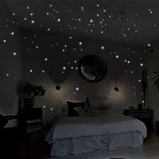 407Pcs Vogue Wall  Wall Decor Glow In The Dark Star Sticker Decal for Kid Room