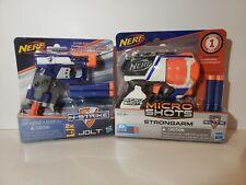 Nerf MicroShots and N-Strike Jolt 2 pack.  Blasters.
