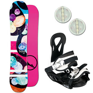 FTWO FR GIRL KINDER SNOWBOARD SET 2021 ~ 140 CM + JUNIOR BINDUNG GR. M + PAD