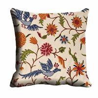 "Floral Pillow Case Throw Pillow Cover Sofa Cushion Cover Office Décor 12""-24"""