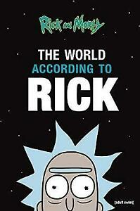 Rick and Morty - The World According to Rick *FREE P&P*