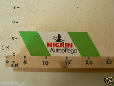 STICKER,DECAL NIGRIN AUTOPFLEGE CAR AUTO