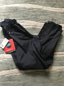 Marmot Precip Full Zip Waterproof Trousers LARGE 14 BRAND NEW