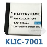 BATTERY 700mAh for KODAK KLIC-7001 KLIK-7001 ACCU