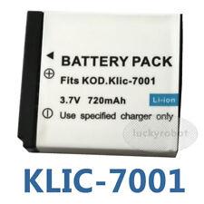 Battery for KODAK EasyShare MD41 MD-41 M341 M-341 Digital Camera NEW KLIC-7001