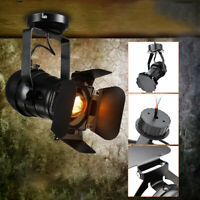 Retro Industrial LED Ceiling Light Stretch Light Indoor LED Lamp for Cloth  US