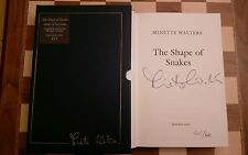 The Shape of Snakes SIGNED LIMITED EDITION Minette Walters Hardback 2000