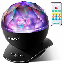 Soothing Aurora LED Night Light Projector with Timer, Remote,Music Speaker.