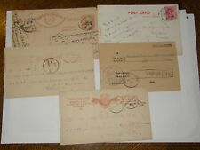 (A290) 5 INDIA AND STATES USED POSTCARDS