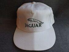 Vintage JAGUAR White Trucker Baseball Hat Cap Sports Car Automobile Auto