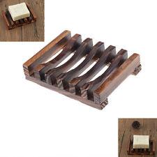 Naturaleza madera bandeja de baño cocina Jabonera jabón baño titular