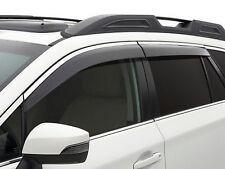 2015-2017 Subaru Outback Side Window Deflectors Vent Visors F0010AL500 New OEM