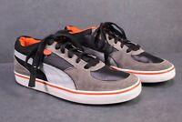 SB550 Puma Skate Vulc Sneaker Sportschuhe Leder grau schwarz rot Gr. 40