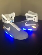 Universal Studios Back To The Future Shoes Size 11 Officially Licensed Air Mags