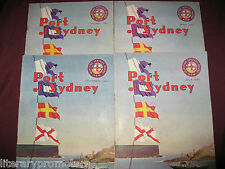 PORT OF SYDNEY Maritime Services Board NSW Magazine 1947 Journal Ship Liners