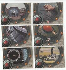 Stargate SG-1 Season 4 Dial Us Home 6 card chase set D1-D6 NM/Mint condition