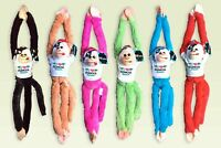 "BERMUDA Plush Stuffed Animal Toy wholesale Hanging Monkey 18"" Lot of 6"