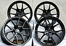 "19"" ALLOY WHEELS CONCAVE 5X108 Y SPOKE BLACK CRUIZE GTO GB ALLOYS FOR FORD"
