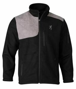 BROWNING BRIDGER SHOOTING BLACK GRAY - MENS JACKET   - 30408099
