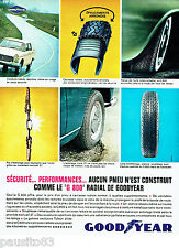 PUBLICITE ADVERTISING 036  1964  Goodyear  pneus  G800