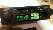 Vintage Alpine 7168 Cassette Deck Shaft Car Stereo Radio