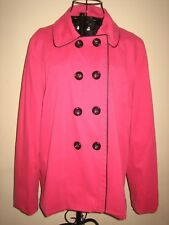 A WOMENS STYLISH PINK GEORGE JACKET SIZE XL PIT-PIT 22-24 INCHES LENGTH 27