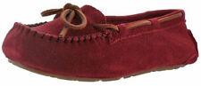 Leather Moccasins Solid Slippers for Women US Size 9
