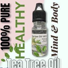 Tea Tree Oil 100% Pure Essential Oil Anti Fungal Anti Bacterial Anti Virus 10ml