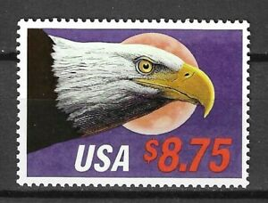 USA 1988 Wildlife Fauna Birds of Prey Vögel Oiseaux Eagle stamp $8.75 MNH