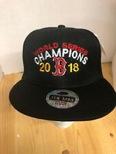Boston Red Sox World Series Champions 2018 Baseball Hat Snapback Black