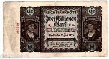 Allemagne GERMANY BILET 2000000 MARK 1923 P89 BERLIN BON ETAT