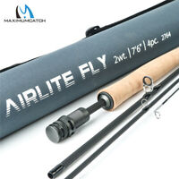 Maxcatch Airlite Fly Fishing Rod 2/3wt Super Light Graphite Carbon Fiber IM10