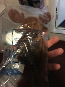 Avon Full Bean Spruce the Moose Beanie Stuffed Animal Brown 1999 In The Bag